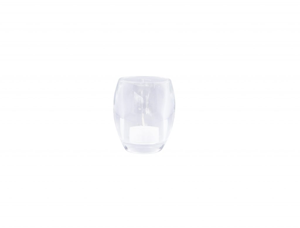 Bolsius Glass Candel Holder Dl14