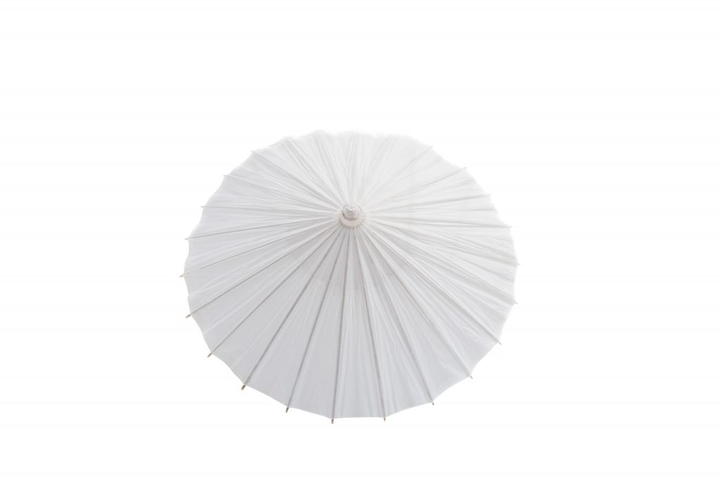 Hand Parasol White Ds02