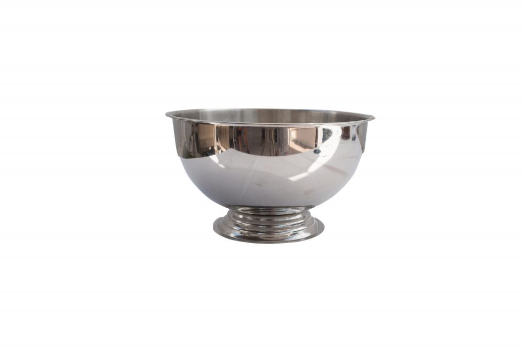 Silver Ice Bowl 36cm Bs03