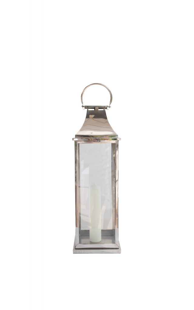 Silver Lantern Large Dl05