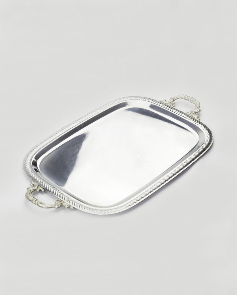 Silver Tray Oval Vj33