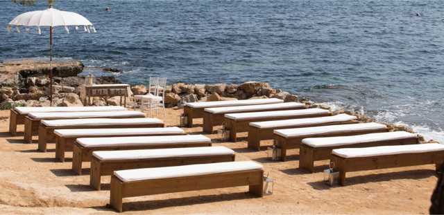 Long Cushions Benches